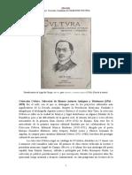 Coleccion Cvltvra Seleccion de Buenos Autores Antiguos y Modernos 1916 1923 Semblanza 848928