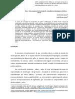 Participação Social e Cultura - Uma Proposta de Formação de Conselheiros Municipais Em Minas Gerais