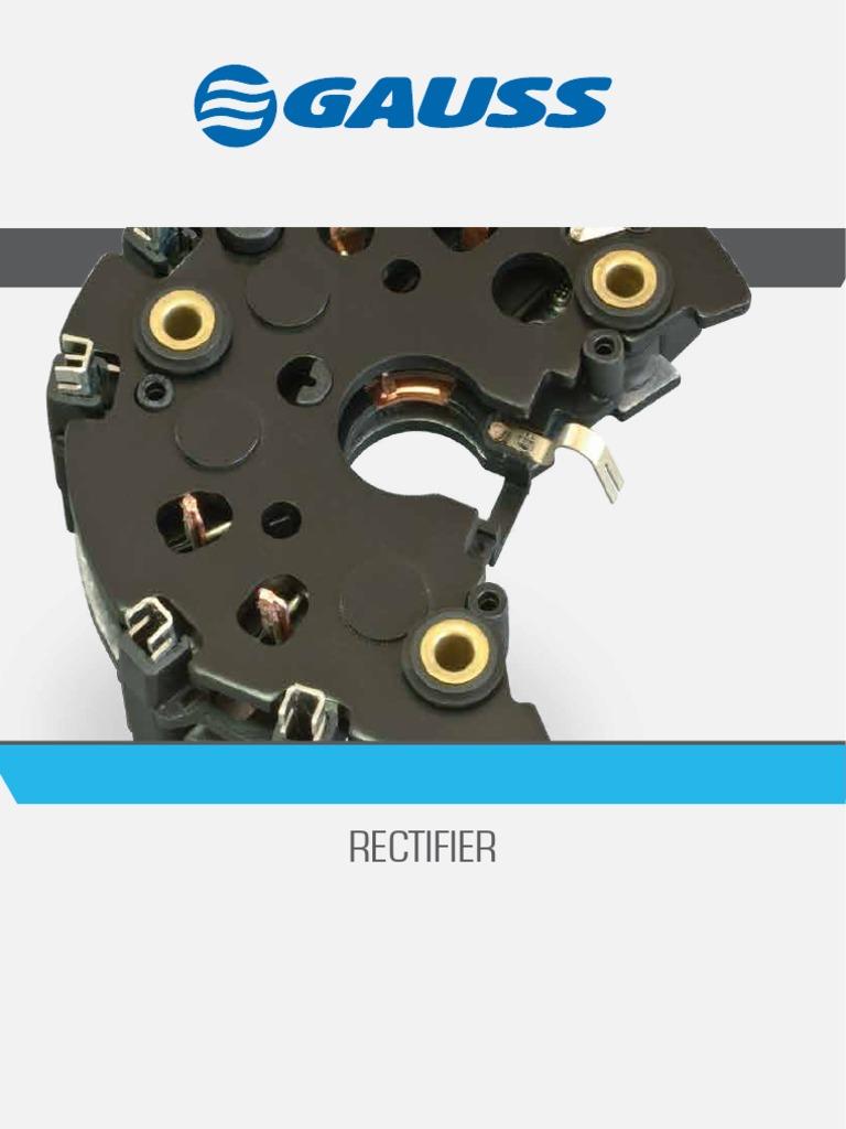 CATALOGO RECTIFIER JUMPER DIODE pdf | Volkswagen | Rectifier