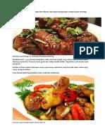 Resep Masak Ayam Kecap Simpel Dan Nikmat