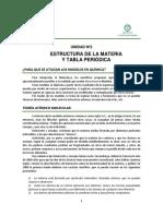 5. Unidad 2 - Estructura Atomica y Tabla Periodica - 2019