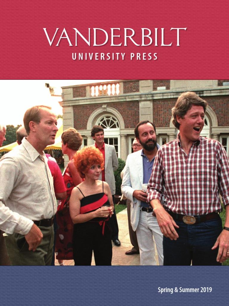 Vanderbilt University Press Spring/Summer 2019 Catalog