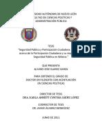 Tésis La Participacion Ciudadana en Mexico