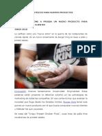 MARKETING ESTRATÉGICO PARA NUEVOS PRODUCTOS