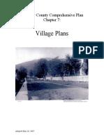 Fauquier County Village Plans
