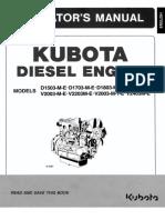 Kubota Operacion