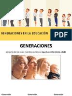 Generaciones en La Educación