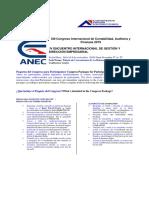 Xiii Encuentro Internacional de Contabilidad, Auditoria y Finanzas 2019 Paquete Usd