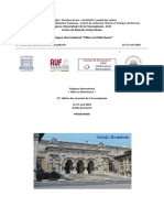 Programme Colloque UGAL