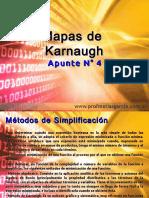 Técnicas Digitales Apunte 4 - Mapas de Karnaugh