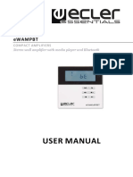 Ecler EWAMPBT en User Manual