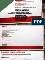 Diapositivas Proyecto de Inversión