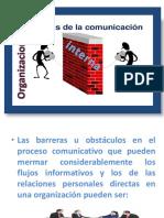Barreras de La Comunicación Interna