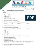 Soal Matematika Kelas 4 SD Bab 10 Bangun Ruang Dan Kunci Jawaban (Www.bimbelbrilian.com)