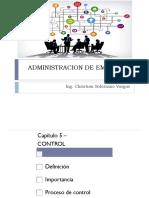 Administracion de Empresas - Cap 5