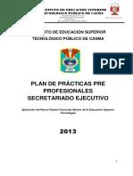 Plan de Practica Secret