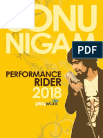 Sonu Nigam SN Complete Rider CORE_Flight Details