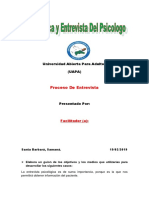Tarea 5 de Tecnica y Entrevista Del Psicologo..