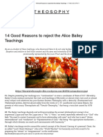 14 Good Reasons to Reject the Alice Bailey Teachings – T H E O S O P H Y