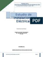 03.3 Estudios de Instalaciones Electricas