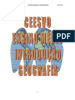 Geografia - CEESVO - Apostila - Módulo 01