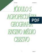 Geografia - CEESVO - Apostila - Módulo 05