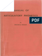 Manual of Articulatory Phonetics