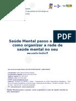 Texto 13 - Saúde Mental Passo a Passo - Como Organizar a Rede de Saúde Mental No Seu Município