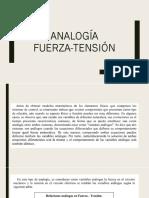 Analogia fuerza tension