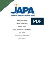 Tarea 4 El Cronograma, La Justificación y El Marco Teórico e La Investigación