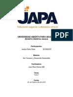 Tarea 7 - Ser Humano y Desarrollo Sostenible - Iandra Peña