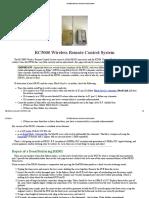 RC5000 Wireless Remote Control System