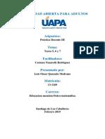 Práctica Docente III T 5 6 7