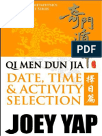 QMDJ Date Selection by Joey Yap