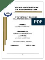 Investigacion y Diseño de Una Protesis1