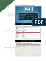 Guia de Instalação - Kali Linux
