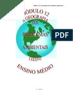 Geografia - CEESVO - Apostila - Módulo 12