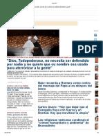 Boletín Religión Digital 05-02-19