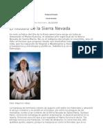 El Filosofo desde la Sierra Nevada.