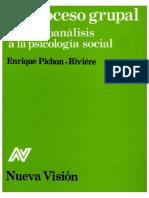 _Enrique Pichon Riviere - El Proceso Grupal.PDF