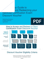 Step-By-Step Guide to Accessing and Redeeming NetAcad Certification Exam Discount