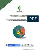 Plan de Cuentas Sector Publico
