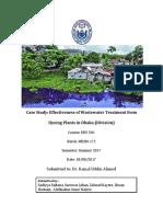 Case Study - Wastewater ETP