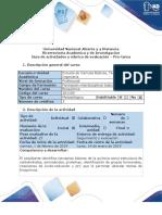 Guía de Actividades y Rúbrica de Evaluación- UNAD