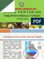 Komoditas Unggulan Kabupaten Mamuju Tengah