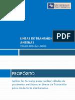 Sesión 7A_ Lineas de Transmisión y Antenas 2014IIIB
