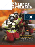 Revista Bomberos Perú - Agosto 2006