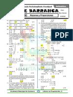 8. Aritmética - Razones y Proporciones
