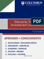 EDUCACION Y TICs EN EL SIGLO XXI