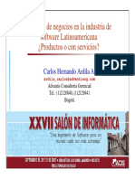 CarlosArdila-ModelosDeNegocioIndustriaSoftware